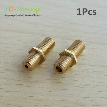 Ultimaker Heatbreak UM Heat Break Hotend Isolator Tube Throat Copper M6*20mm for 3D Printer 1.75mm 3mm Filament image