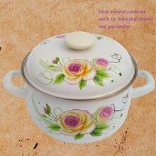 FREE SHIPPING kitchen utensil casserole enamel pot set casserole set ceramic cookware set enamel casserole enameled-cookware-set