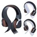 Fone de Ouvido fone de ouvido Fone De Ouvido Display Stand Titular Rack de Cabide Cabide de Acrílico Display de Mesa Cabide Preto/Transparente/Branco Cores