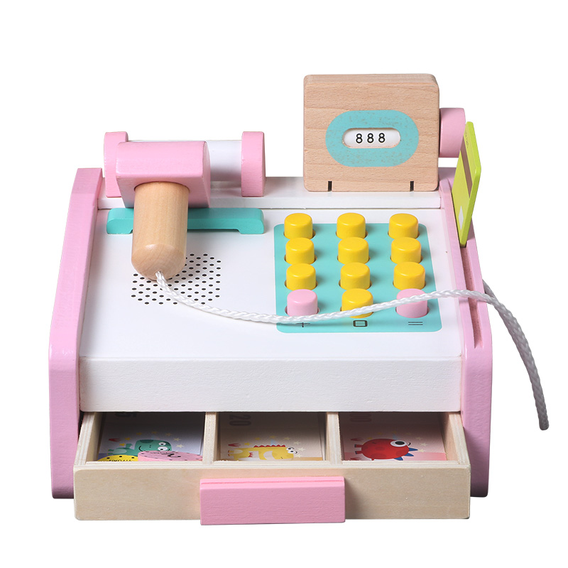 Candywood Pretend Play Groceries Toys Supermarket Cash Register Scanner Checkout Counter toys for children kids girl gifts Karachi