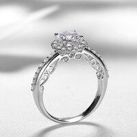 1.00 + 0.42ct Роскошные GIA кольцо с бриллиантом для Для женщин ручной работы Обручение обручальное Природный GIA Ювелирные изделия с алмазами