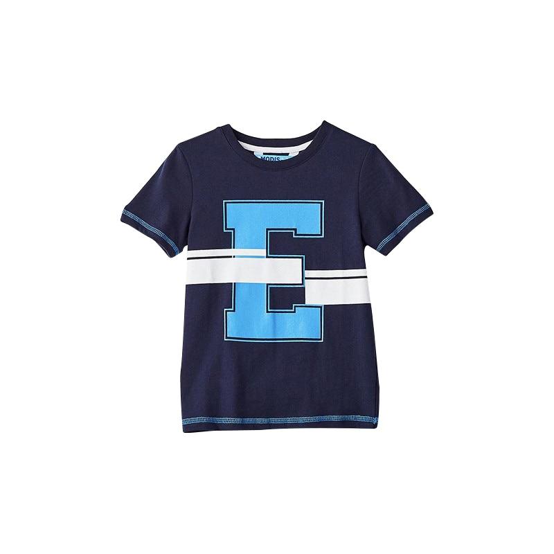 цена T-Shirts MODIS M182K00093 for boys kids clothes children clothes TmallFS