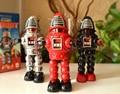 Classic retro estaño Clockwork juguetes clockwork robot Robbie rara Colección