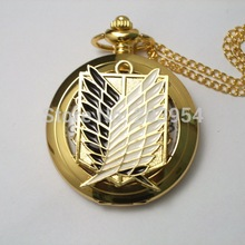 Attack on Titan 1pcs/lot Pocket Watch Cosplay Scout Regiment