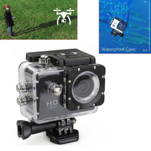 2 Inch Mini FHD Car Camera Sports Action Cam DRV Video Recorder 12MP Waterproof Accessories Detachable Battery