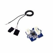 Grove GSR czujnik prądu skóry, pomiar rezystancji skóry przewodność elektryczna palca Grove GSR moduł FZ3294