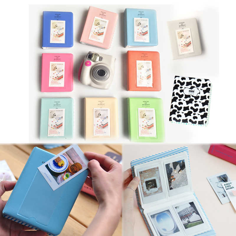 64 Mini Korea Picture  Polaroid Album Storage 1PC Case  Pockets Fotografia Photo Instant