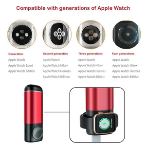 Image 3 - Batterie externe 5200 mAh Portable chargeur de téléphone Portable 3 In1 chargeur sans fil batterie externe pour iPhone AirPods Apple Watch Series 4/3/2/1