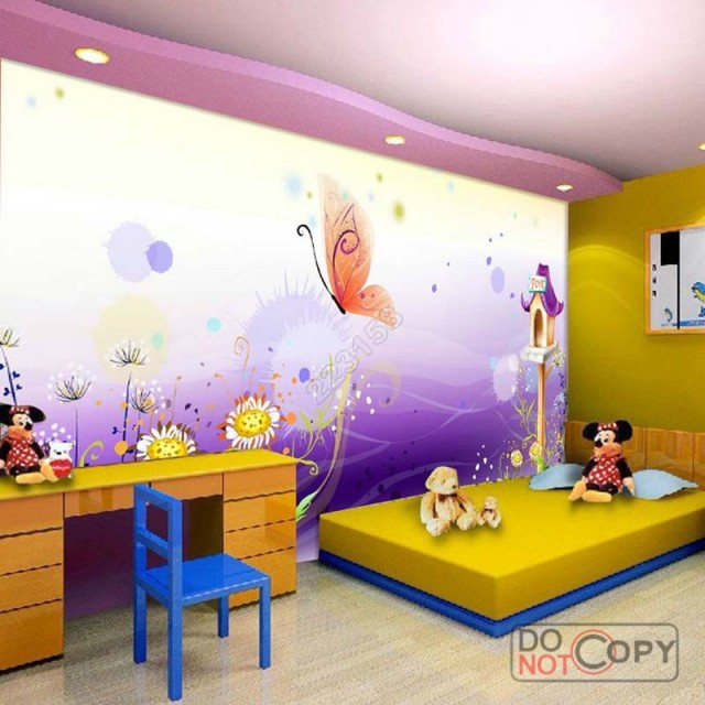 Kids Bedroom Background online shop modern home deco fashion 3d stereo kids bedroom