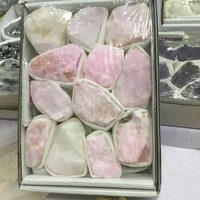 Natural rough Rhodochrosite Rose mineral stone specimen