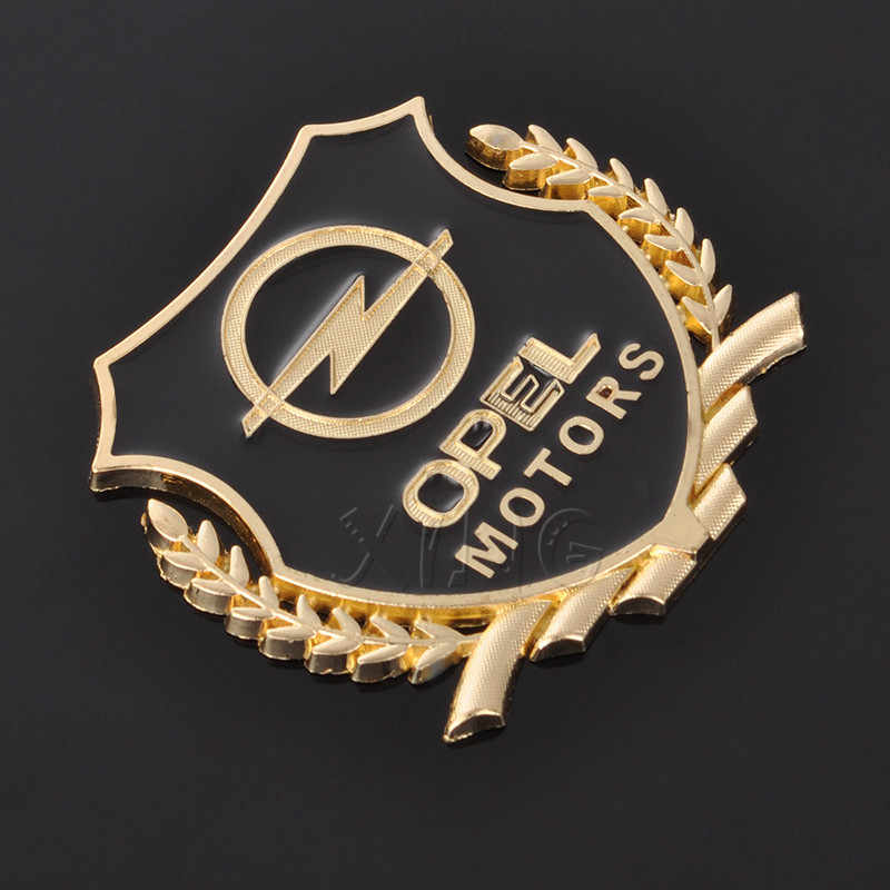 Autocollant Auto emblème autocollant pour Opel Zafira a b Astra h g j k f Mokka Corsa b c d Vectra Insignia moteurs VIP Badge voiture