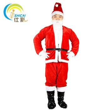 2019 Nueva Moda De Santa Claus Villi Ropa Para Hombre Vestido De Navidad Para Mujer Modelos Trajes E