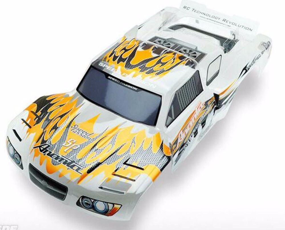 US $37 39 15% OFF Hpi Racing 1/10 Short Course on road body shell 727 slash  TeamC TS4TE WR8 340mm SCA10 Pan Car PC Painted Body For HPI Blitz-in Parts