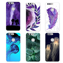 Soft Silicone Case For Huawei NOVA 2 5.0 inch Back Phone TPU Cover Cases For Huawei nova2 PIC-AL00 Painted Shells For Nova 2 Bag(China)