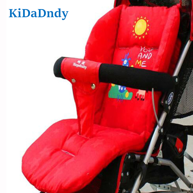 Strollers Accessories Activity & Gear Kidadndy Cartoon Stroller Seat Mattress Mattress Cart Thick Cushion Pillow Children Carriage Buffer Thermal Alteration Spe358 Fancy Colours