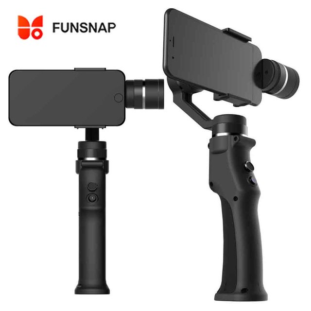 Funsnap Capture Handheld Gimbal Phone Stabilizer For Smartphone GoPro XiaoYi 4k Action Sport Camera Estabilizador Celular