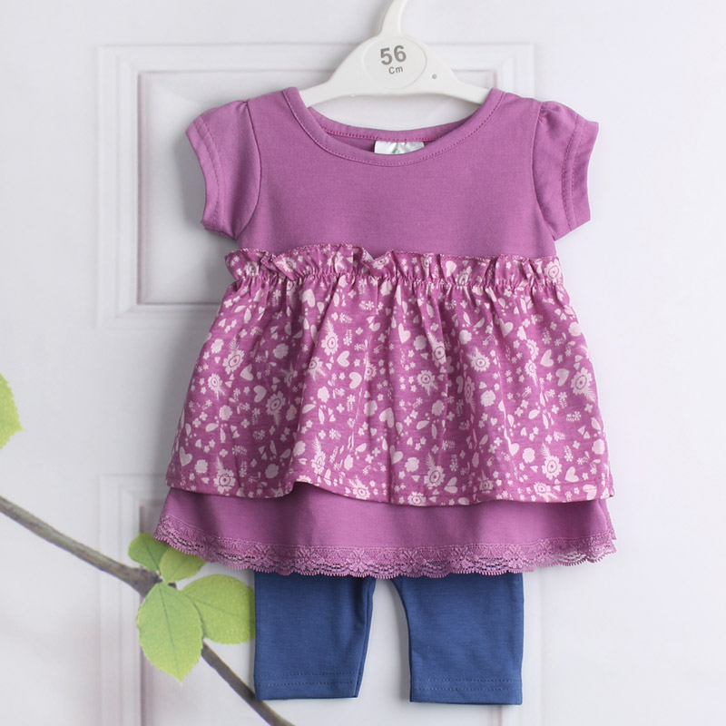 In-kind Shooting baby girls dress 0-18months infant clothing set 2pcs children short sleeve clothes suits summer dresses coat baby girl 1st birthday outfits short sleeve infant clothing sets lace romper dress headband shoe toddler tutu set baby s clothes
