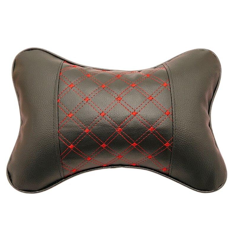 Car Interior Safety Cushion Car Headrest Breathe Car Auto Seat Head Neck Rest Cushion Headrest