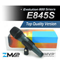 Free Shipping! Top Quality Version E845 Professional Dynamic Cardioid Vocal Handheld Karaoke Wired Microphone microfone Mike Mic