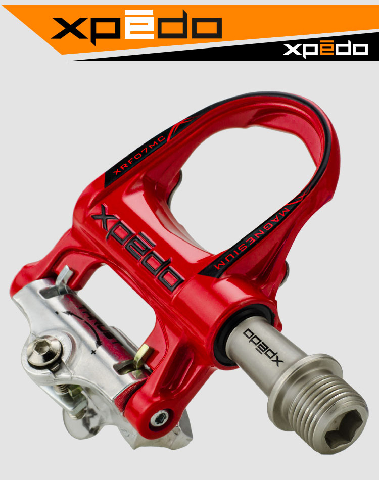 Wellgo Xpedo XRF07MC Road Bike bicycle Sealed Pedals Compatible Ultralight Pedals Bicycle Pedal Cycling Bearing Pedals