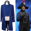 Norm Lewis Javert Blue Jacket Musical Les Miserables  Cosplay Costume