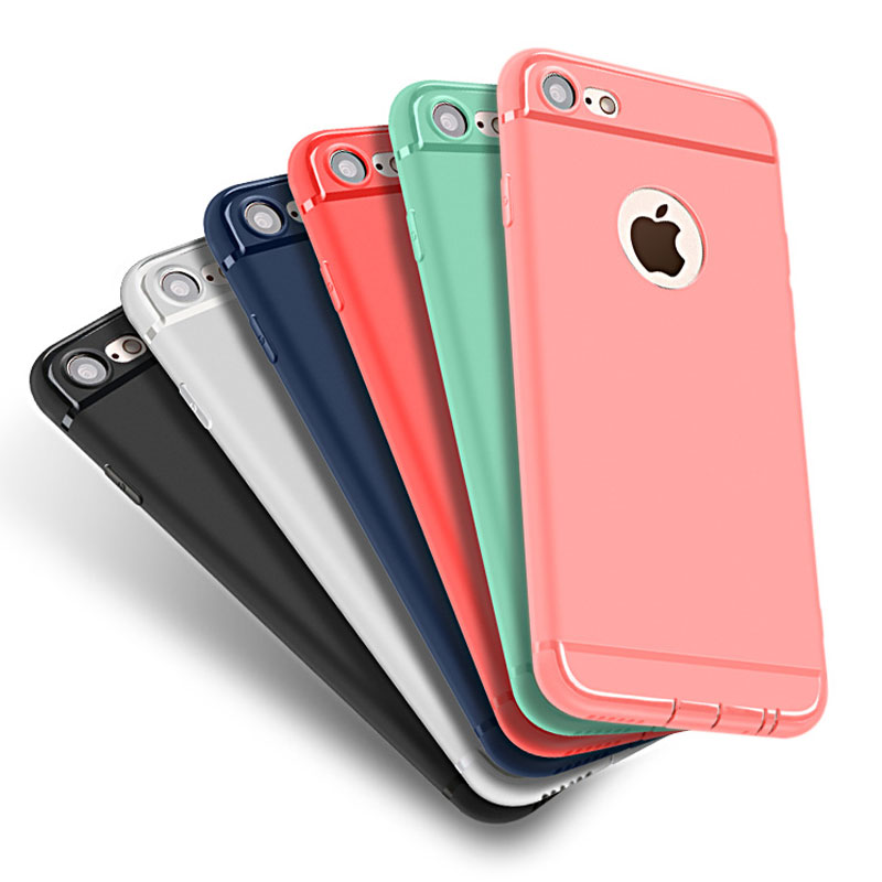 Printed Silicone iPhone 6 plus Cover