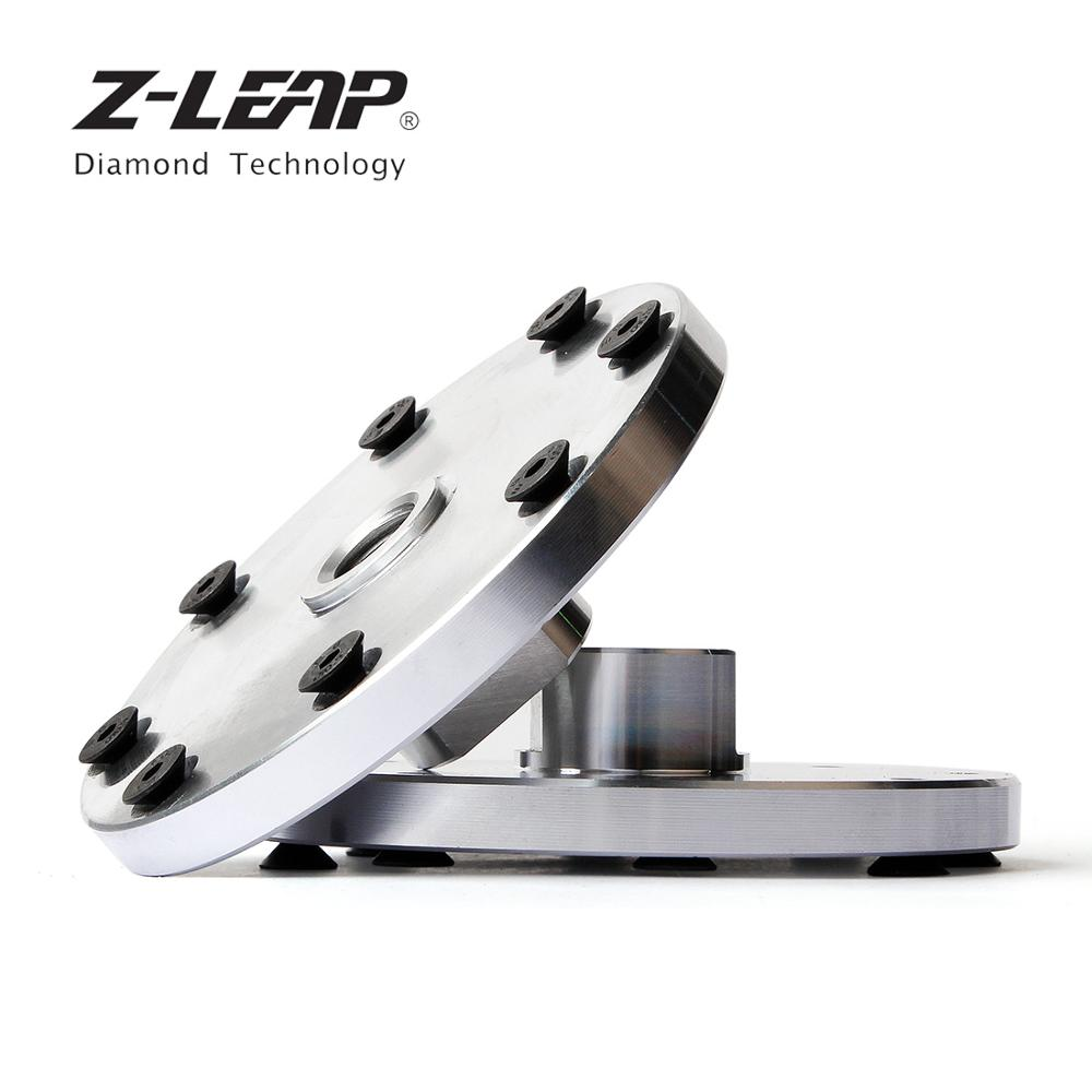 Z-LEAP 1PC Rigid Flange Coupling Motor Guide Shaft Adapter 5/8-11 M14 Durable Insulation Metal Flange Tool For Diamond Saw Blade