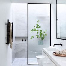 Frosted glass stickers Nordic Ins green plants Bathrooms balcony door windows electrostatic transparent opaque film