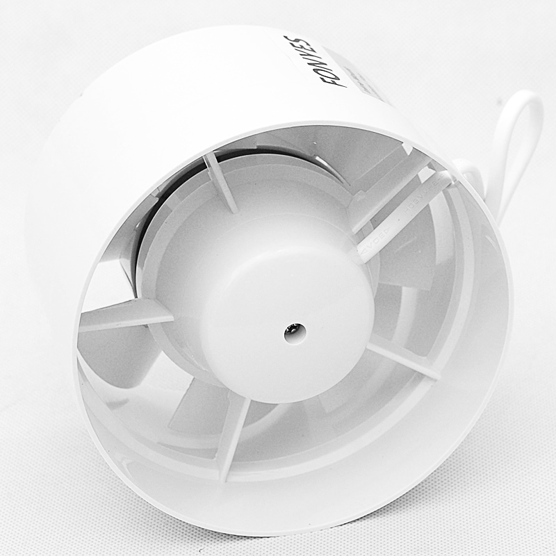 4 Inch Inline Duct Fan Mini Plastic Booster Exhaust Fan Extractor Air Vent Ceiling Pipe Ventilation For Bathroom 100mm 110v In Exhaust Fans From Home