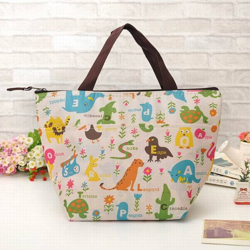 New design creative portable insulated thermalice cooler bag men women kids baby milk pinic pack lunch box adults food handbags