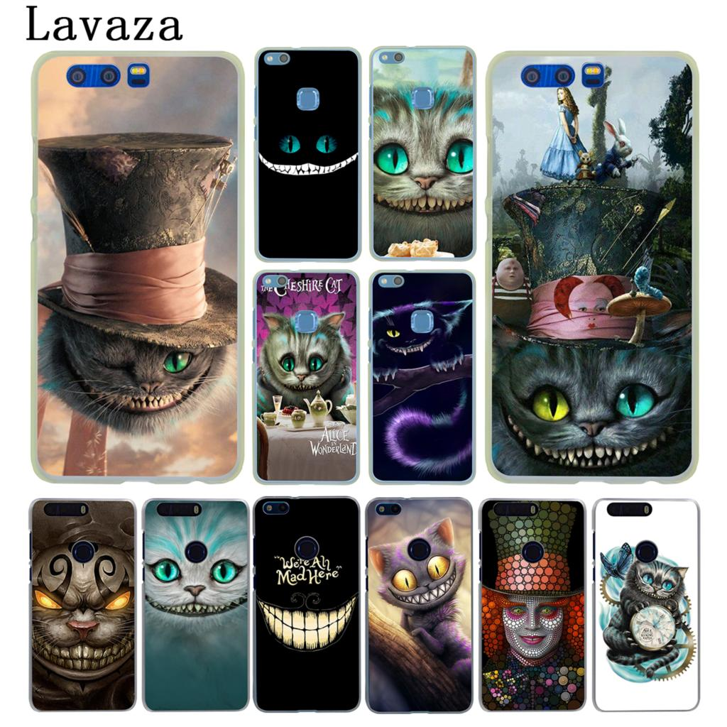 Lavaza Alice in Wonderland Cheshire <font><b>Cat</b></font> <font><b>Case</b></font> for <font><b>Huawei</b></font> Y9 <font><b>Y7</b></font> Y6 Prime 2018 <font><b>2019</b></font> Honor 20 10 8 8C 8X 9X 9 Lite 7C 7X 7A Pro image