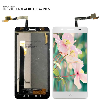 For ZTE Blade A610 plus A2 plus LCD Display Digitizer Touch Screen Panel Sensor Glass Assembly +Tools gresso чехол крышка gresso для zte blade a610 plus силикон прозрачный