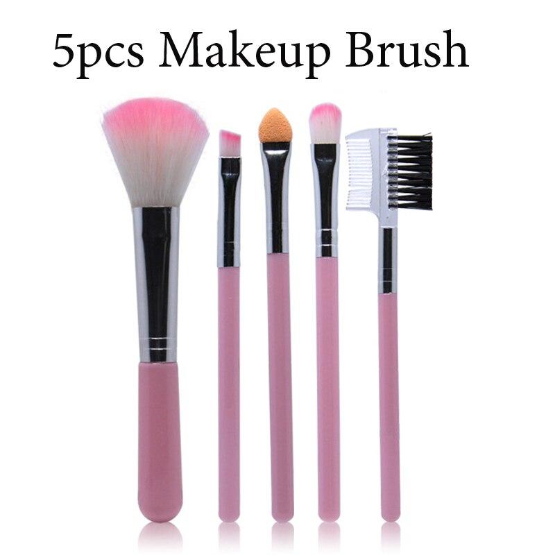 Frans Neue 5 Stücke Make-Up Pinsel für Frauen Make-Up Pinsel Kosmetische Werkzeuge