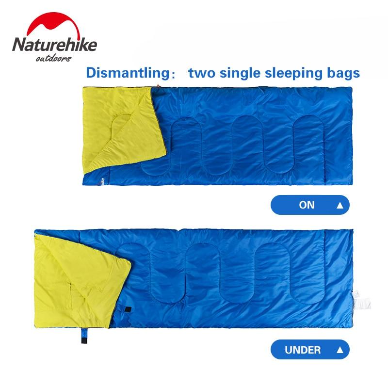 Naturehike otvoreni kamp za odrasle spavaća vreća dvostruko - Kampiranje i planinarenje - Foto 5