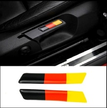 Dla Volkswagen Golf 6/GTI/Sagitar/Touran siedzenia Liftincg klucz naklejka dekoracyjna 2 sztuk