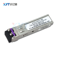 Custom Label SFP 1.25Gb/S 1290nm 1310nm 1330nm 1350nm 1430nm Fiber Optic CWDM SFP Tansceiver Module 40km