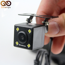 Free Transport, Waterproof HD CCD Sensor 170 Diploma four LED Lamp Night time Imaginative and prescient Automotive Parking Rear View Digicam Reversing Backup Digicam