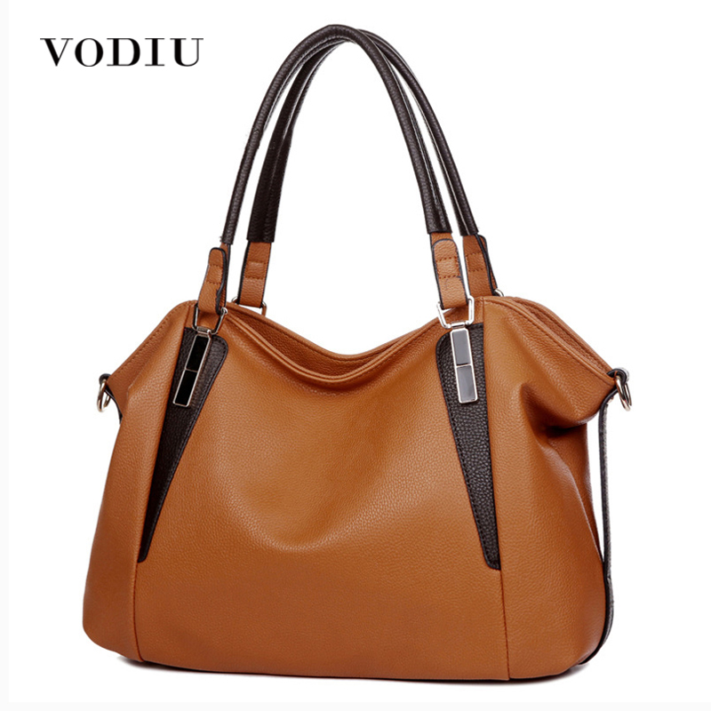 Women Leather Handbags Black Fashion Shoulder bag Messenger bag Famous Brands Designer Handbags High Quality BG53 famous brands handmade women shoulder bags fashion high quality designer black leather handbags ladies knitting messenger bag b