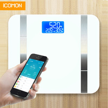 smart bathroom scales floor weight body fat mi scale human weighing scale balance Connect bluetooth все цены