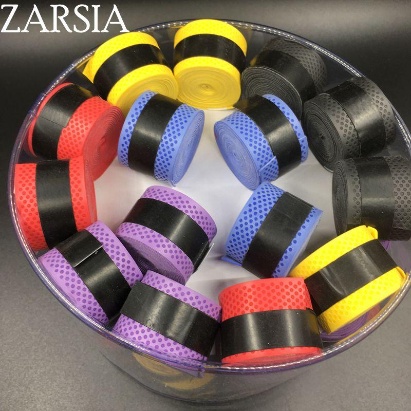 Prix pour 60 pecs/lot ZARSIA Badminton Grip/surgrips tennis/tennis de Bandeau