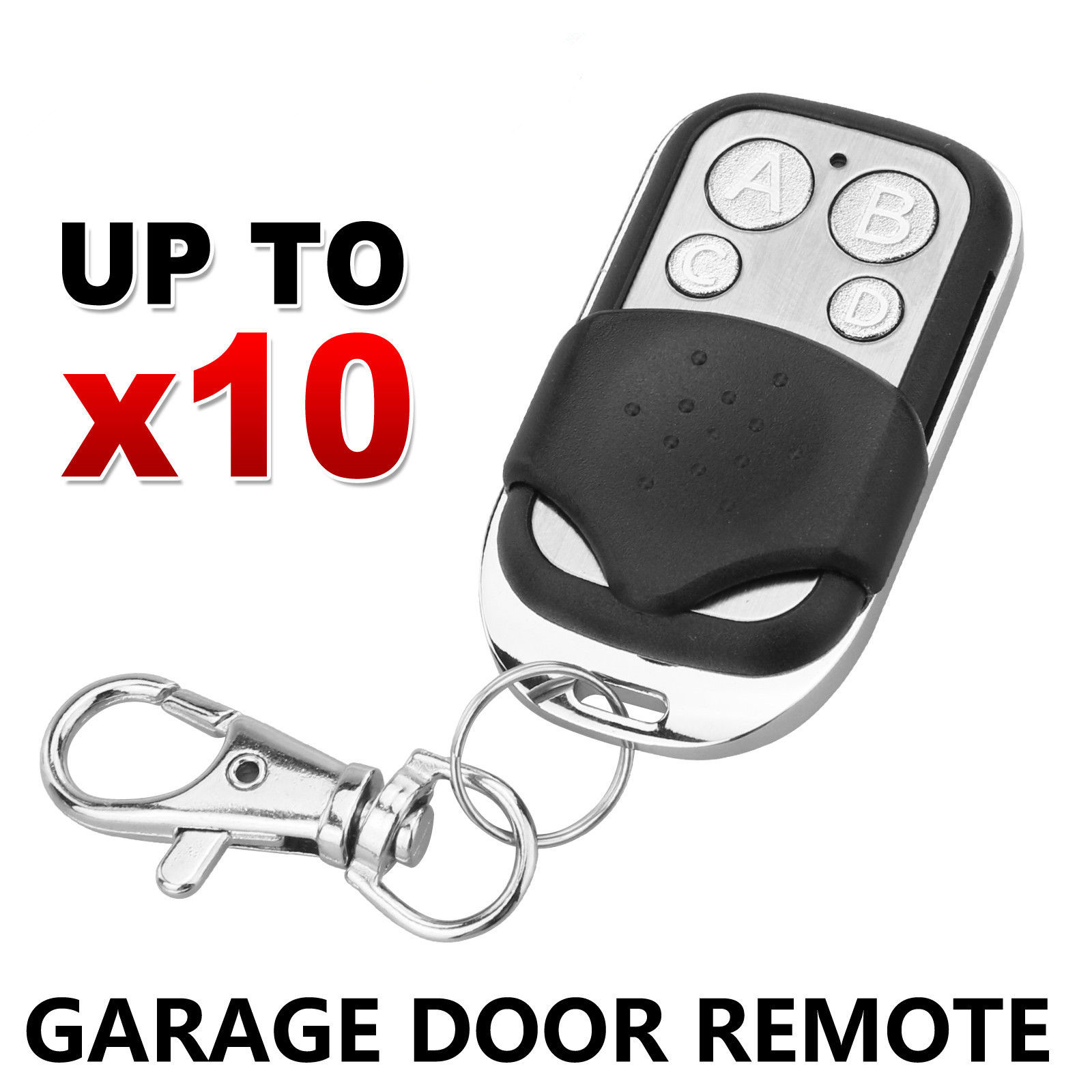10x Universal Replacement Garage Door Car Gate Cloning Remote Control Key Fob 433 new nova centurion blue gate garage remote control replacement