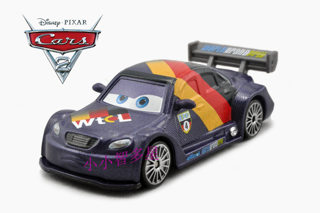 pixar cars 2 toys max schnell diecast car 1 55 scale