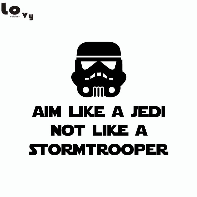 Classic Movie Star Wars Aim Like A Jedi Not Like A