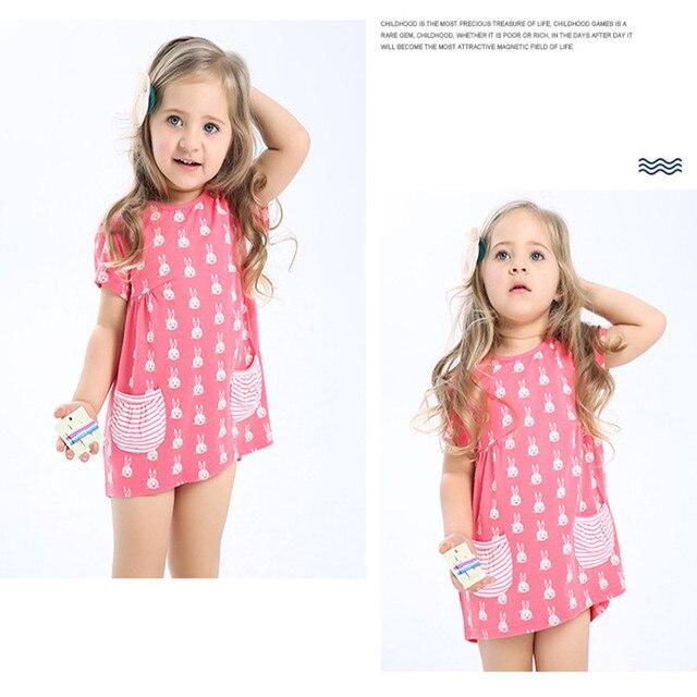 9528de21f758 2016 New Baby Girl Skirt Dress Vest Clothes Summer Children Dress ...