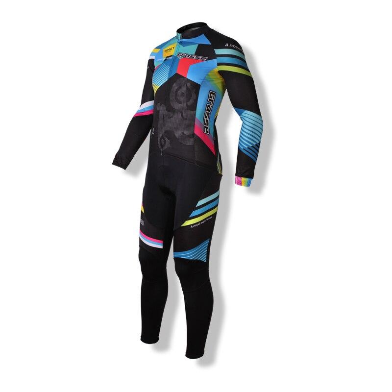 SPAKCT MTB jersey Cycling Suit Jerseys Newest Pro Fabric Wear Long Set Bike Clothing Pants MTB Bike Maillot Ropa Cycling Set live team cycling jerseys suit a001