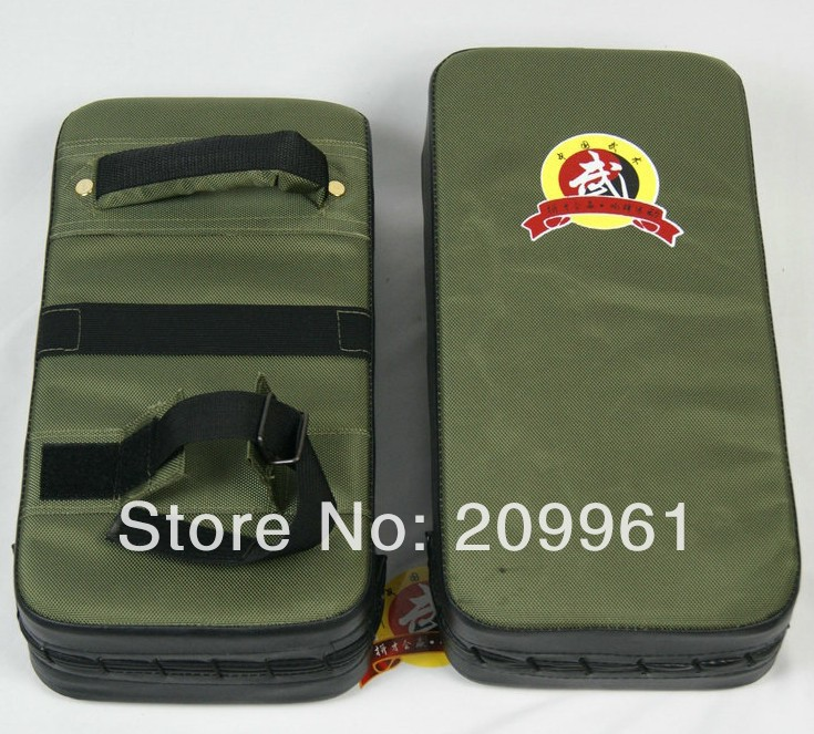 Durable Canvas Sanshou fighting boxing pad mitt sandbag Punch Pad kick target Boxing Focus Muaythai muay free shipping