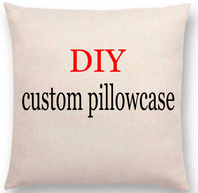 Superb Photo Or Logo Custom Pillowcase For Car Chair Sofa Pillow Cover Linen Cotton Pillow Cases Cushions Home Textil Printed Decor A Unemploymentrelief Wooden Chair Designs For Living Room Unemploymentrelieforg