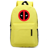 13 colour Deadpool knapsack Model Deadpools Backpack Toys Cos Anime X Men Decoration Collection Gift Toys For Child/Adult 45CM