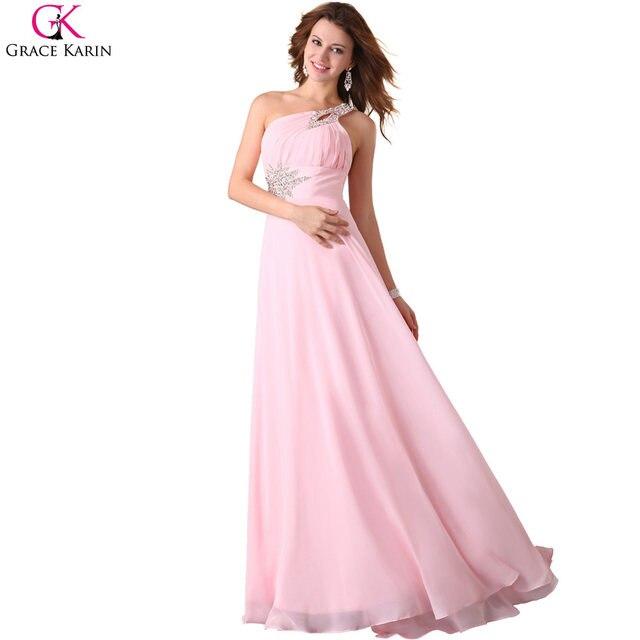 Hermosa Rubor Rosa De Gasa Vestido De Dama Fotos - Ideas de Estilos ...