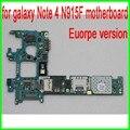 32 gb desbloqueado original, a europa versão para samsung galaxy note 4 edge n915f motherboard com batatas fritas por dhl frete grátis